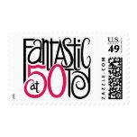 Fantástico en el sello 50