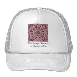 Fantástico plástico rosado gorras