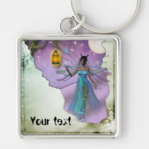 fantasy, keychain, fairy, love, you, fun, wedding, shower, birthday, Keychain with custom graphic design