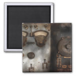 Fantasy - A tribute to Steampunk 2 Inch Square Magnet