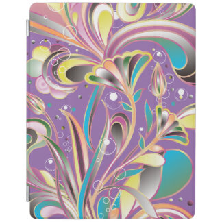 Fantasy Abstract Flowers iPad Smart Cover