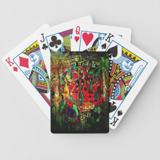 Fantasy Abstract Mural Design gifts Poker Deck