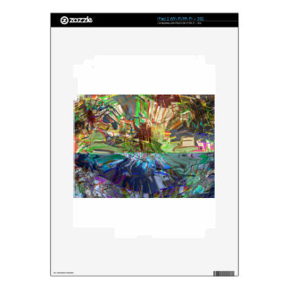Fantasy Abstract Pure Digital Graphic Obsession Decals For The iPad 2