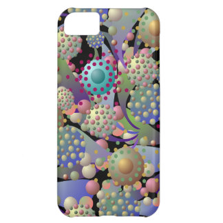 Fantasy Alien Blossoms and Spores iPhone5 Cover For iPhone 5C