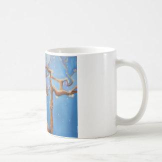 Fantasy almond blossom tree coffee mug