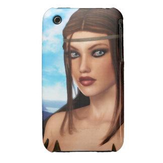 Fantasy Amazon Girl Case-Mate iPhone 3 Case
