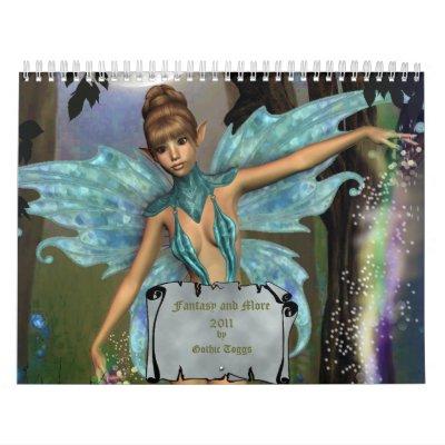 Fantasy and More 2011 Calendar