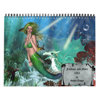 Fantasy and More 2013 Calendar