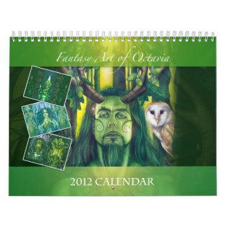 Fantasy Art by Octavia Calendar
