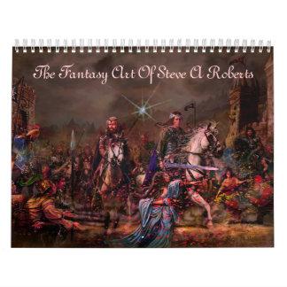 Fantasy Art By Steve A Roberts Calendars