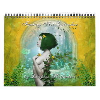 Fantasy Art Calendar 2014