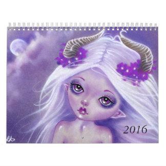 Fantasy Art Calendar 2016 Katerina Art