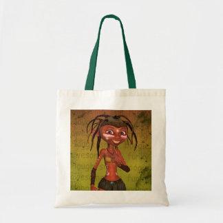 Fantasy Art Cute Elf Bag