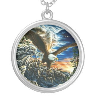 Fantasy Art Eagle Necklace