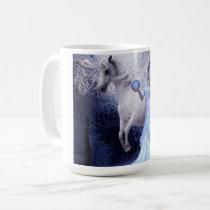 Fantasy Art Girl And Horse Mug