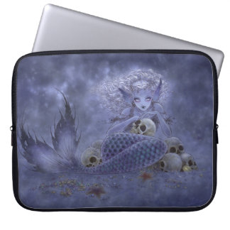 Fantasy Art Laptop Sleeve - Dark Mermaid