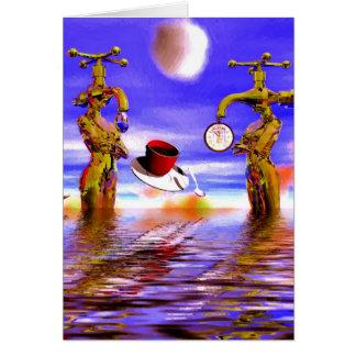fantasy art paintings, fantasy painting greeting card