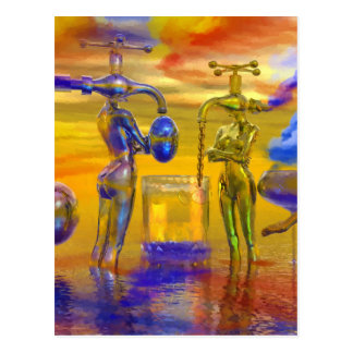 fantasy art paintings, fantasy painting postcard