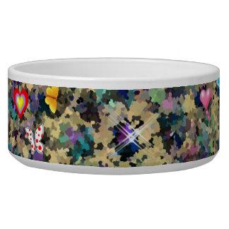 Fantasy art Pet food bowl