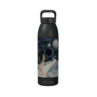 fantasy art water bottle