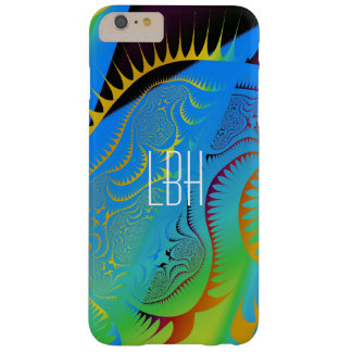 Fantasy Artwork with Custom Monogram Barely There iPhone 6 Plus Case
