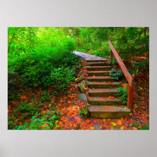 Fantasy Autumn Poster