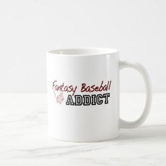 Fantasy Baseball Addict Coffee Mug