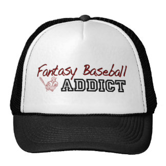 Fantasy Baseball Addict Trucker Hat