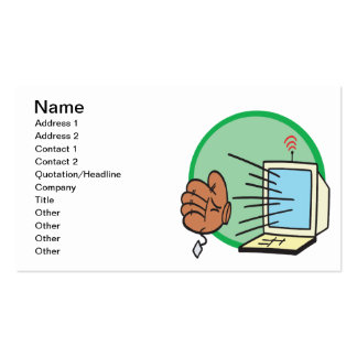 Fantasy Baseball Business Card Template