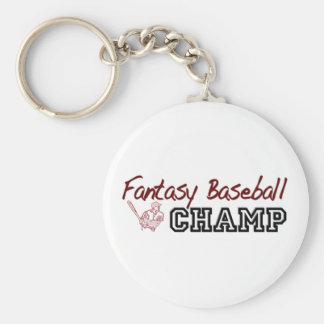 Fantasy Baseball Champ Keychain