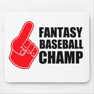 Fantasy Baseball Champ Mouse Pad