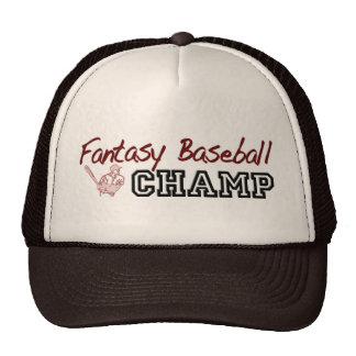 Fantasy Baseball Champ Trucker Hat
