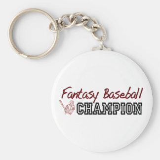 Fantasy Baseball Champion Keychain