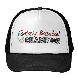 Fantasy Baseball Champion Trucker Hat