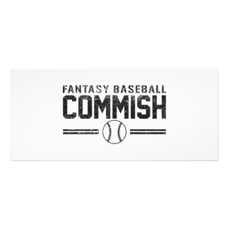 Fantasy Baseball Commish Rack Card