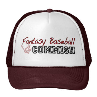Fantasy Baseball Commish Trucker Hat