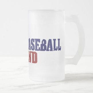 Fantasy Baseball Legend 16 Oz Frosted Glass Beer Mug