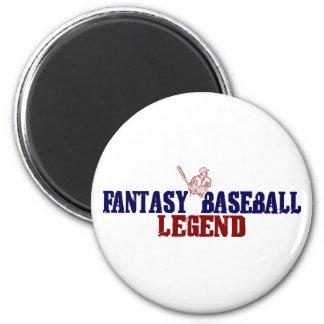 Fantasy Baseball Legend (2009) 2 Inch Round Magnet