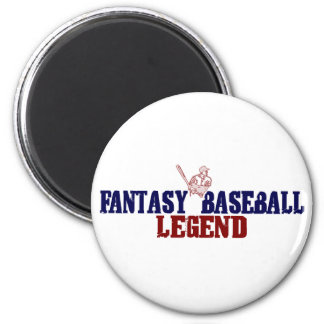 Fantasy Baseball Legend 2 Inch Round Magnet