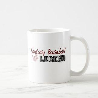 Fantasy Baseball Legend Coffee Mug