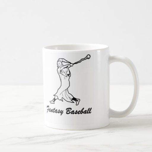 Fantasy Baseball Wizard Mugs