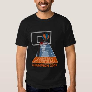Fantasy Basketball Champion 2009 T-shirt