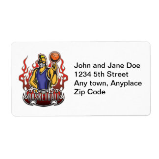 Fantasy Basketball Freak Label