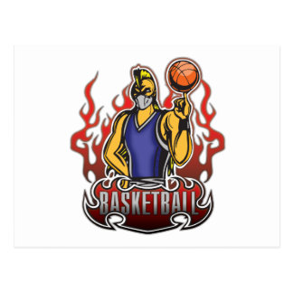Fantasy Basketball Freak Postcard