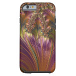Fantasy Beautiful Swirling Stripe Colorful Fractal Tough iPhone 6 Case