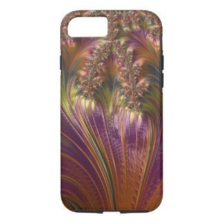 Fantasy Beautiful Swirling Stripe Colorful Fractal iPhone 8/7 Case