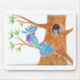 Fantasy Bird by Wendy C. Allen Mouse Pad