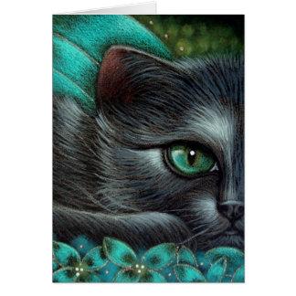 FANTASY BLACK FAIRY CAT 1 CUSTOMIZE Card