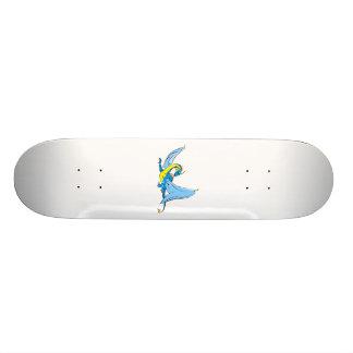 Fantasy Blue Dragon Skateboard Deck