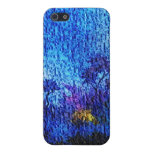 Fantasy blue flower illusion iphone 4s speck case case for iPhone 5